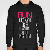 Run like Nash Grier is waiting at the Finish Line Hoody by RexLambo
