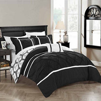 Chic Home Marcia Midweight Reversible Comforter Set - JCPenney