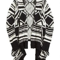 Printed Waterfall Cardigan   Girls Tops Clothes   Shop Justice