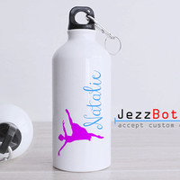 Personalized Dance Desgin - Bottle Sport - Custom Water Bottle -  Club Bottle Sport - Include Name