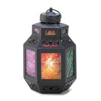 RAINBOWÕS DELIGHT CANDLE LANTERN