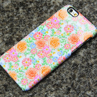 Summer Flowers iPhone 6 Case Floral iPhone 6 plus iPhone 5S 5iPhone 5CiPhone 4S/4 Samsung Galaxy S6 edge S6 S5 S4 S3 Note 3 Case 017
