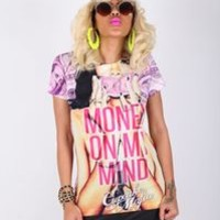 Money on My Mind T — Cupcake Mafia Ts