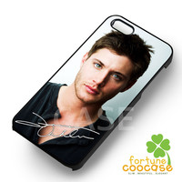 jensen ackles dean-1nn for iPhone 6S case, iPhone 5s case, iPhone 6 case, iPhone 4S, Samsung S6 Edge