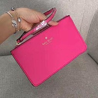 Kate Spade Simple Zipper Wrist Bag Handbag Wallet