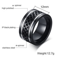 Hollow Heart  Men RIng