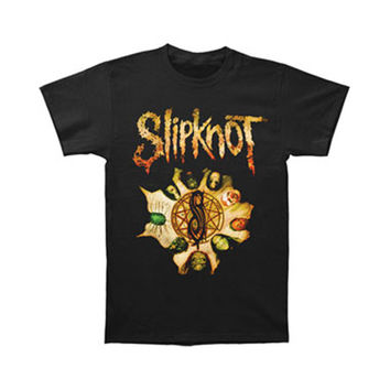 Slipknot Men's  T-shirt Black Rockabilia