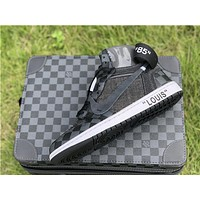 Off-White x LV x Air Jordan 1 AQ0818 Sneaker With LV Box