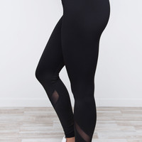 The Truth Is Leggings - Black