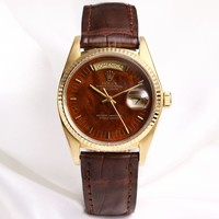 Rolex Day-Date 18038 18K Yellow Gold