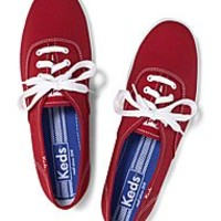 Keds Lace Up Canvas & Leather Sneakers for Girls & Women | Keds