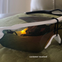 New Oakley JAWBREAKER Sunglasses OO9290-05 POLISHED WHITE / PRIZM ROAD