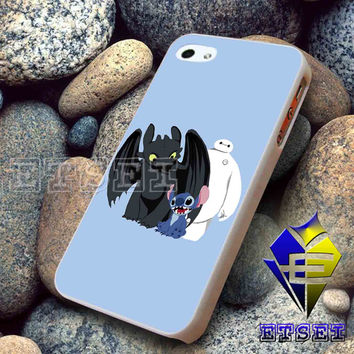 Toothless Stitch And Baymax For iPhone case Samsung Galaxy case Ipad case Ipod case