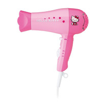 Hello Kitty KT3052A 1875W Hair Dryer Pink 1875W W/Detachable Styling Nozzle