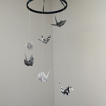 Origami crane, baby mobile | Made with love on Madeit | 354x354