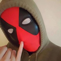 Super Stretch Deadpool Spiderman Flexible Mask Halloween Cosplay Deadpool Tights Hood Party