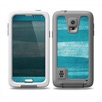 The Worn Blue Texture Skin Samsung Galaxy S5 frē LifeProof Case