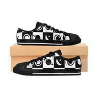 The Space Checker Men's Sneakers