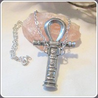 Ankh Athame Necklace