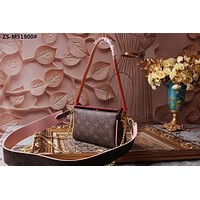 2019 New Office Louis Vuitton Women Leather Monogram Handbag Neverfull Bags Tote Shoulder Bag Wallet Purse Bumbag    Discount Cheap Bags Best Quality