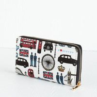 ModCloth Vintage Inspired Brit Factor Wallet
