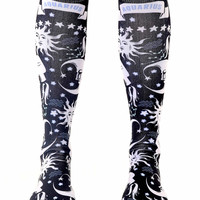 Aquarius Knee High Socks