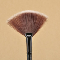 Free Shipping New Pro Fan Shape Makeup Brushes Cosmetic Brush Blending Highlighter Contour Face Powder Woman Makeup Tool NA1122