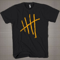 5 Seconds Of Summer Line Logo  Mens and Women T-Shirt Available Color Black And White