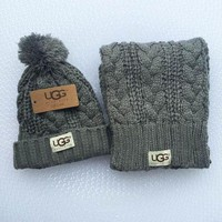 UGG Fashion Winter Knit Women Men Beanies Scarf &Cap Tagre™