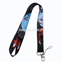 Nightmare Before Christmas Cell Phone Charm Camera Keys ID Neck Lanyard Strap #1