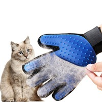 Silicone Pet Grooming Glove For Cats