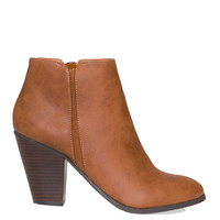 Barcelona Booties - Tan