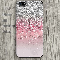 Dream sparkle Sand grains iphone 6 6 plus iPhone 5 5S 5C case Samsung S3, S4,S5 case, Ipod touch Silicone Rubber Case Phone cover Waterproof