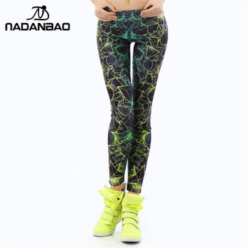 Women 3D Printed Fluorescence legging for Woman FREE SHIPPING