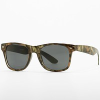 Women's Whiskers Sunglasses in Brown by Daytrip.