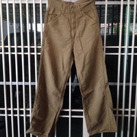 45rpm worker pants style / japanese brand / canvas cotton / streetwear / american style worker