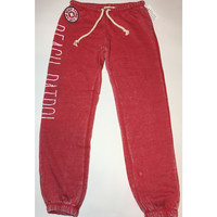 Ocean Drive Beach Patrol burn out sweat pants