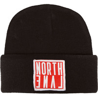 Northlane Men's Square Logo Beanie Black