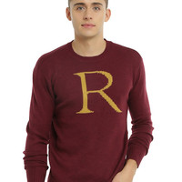 Harry Potter Ron Weasley Intarsia Pullover Men's Sweater