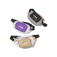 FILA Tide brand retro men and women models street fashion casual shoulder bag pockets Messenger bag