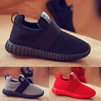 Children Sneakers Baby Kids Shoes Boys Sneakers Foamposite Smithing Child Yeezy Enfant