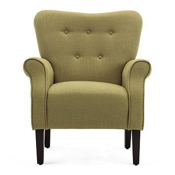 Modern Accent Chair (Avocado)