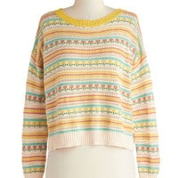Posy Disposition Sweater