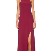FAITHFULL THE BRAND Hey Beau Maxi in Cranberry