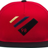 Diamond 98 Supply Hat Adjustible Red/Black