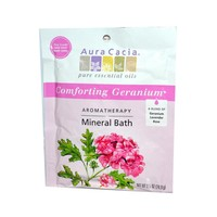 Aura Cacia Aromatherapy Mineral Bath Heart Song 2.5 oz (Pack of 6)