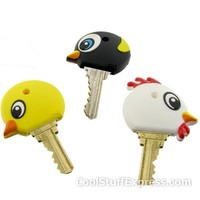 Chickeys Chicken Key Covers