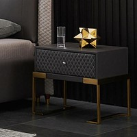 Stylish Stainless Steel Night Stand