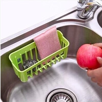 Kitchen Tools and Gadgets Candy Color Filtered Water Basket Storage Box for Dish Towel/Cloth Cleaning Ball = 1958220036