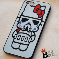 Hello Stormtrooper iPhone 4/4s/5/5s/5c/6/6 Plus Case, Samsung Galaxy S3/S4/S5/Note 3/4 Case, iPod 4/5 Case, HtC One M7 M8 and Nexus Case